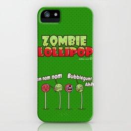 Zombie Lollipop iPhone Case