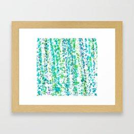 Colours cascais Framed Art Print