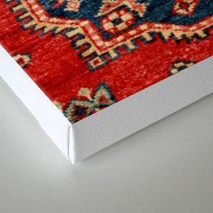 Natural Dyed Handmade Anatolian Carpet Canvas Print