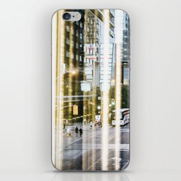 Downtown Reflections iPhone Skin