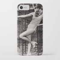 gym iPhone & iPod Cases featuring Jungle Gym by Joellart