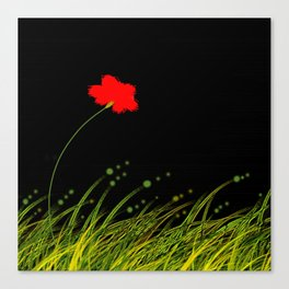 A red flower Canvas Print
