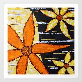 Flower Time 2 Art Print