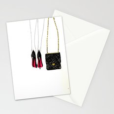 Red soles Stationery Cards
