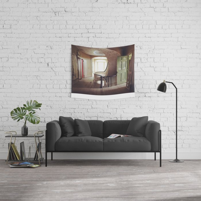Historic House  Wall Tapestry