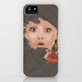 Splash portrait iPhone Case