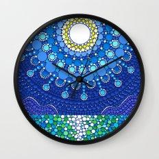 Full Moon Splendour Wall Clock