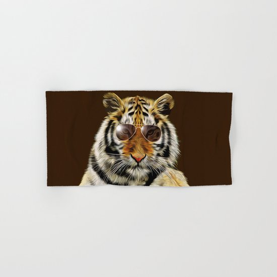 In the Eye of the Tiger Hand & Bath Towel