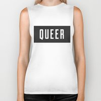 queer Biker Tanks featuring Queer by Haus of Handsome