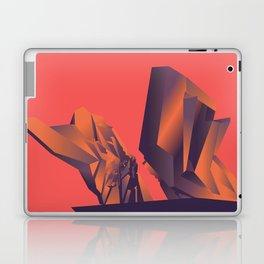 Futuristic Monuments Of Old Yugoslavia Laptop & iPad Skin