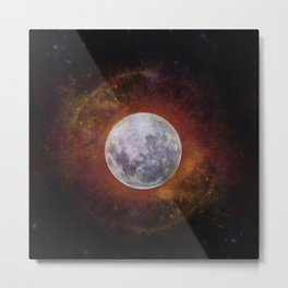 Planetary Soul Astra Metal Print