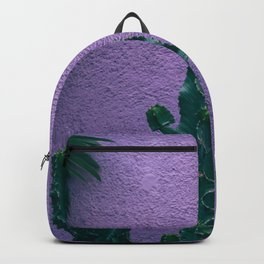 Cactus and pastel walls Backpack