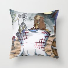 Lady and the Tramp Throw Pillow