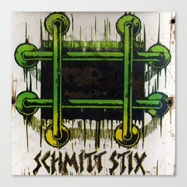 John Lucero, Schmitt Stick, 1986 Canvas Print