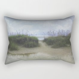 Morning at Tybee Rectangular Pillow