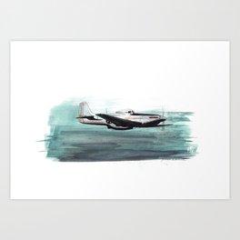 Aqua Dreams Art Print