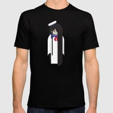 Samara / Stay Puft X-LARGE Mens Fitted Tee Black