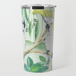 Saffron Cockatoo Travel Mug