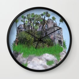 Not going out Wall Clock
