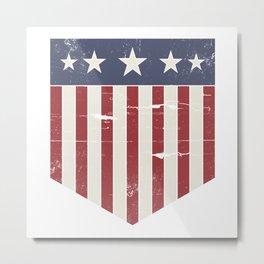 Flag Metal Print