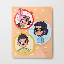 The Belcher Children Metal Print