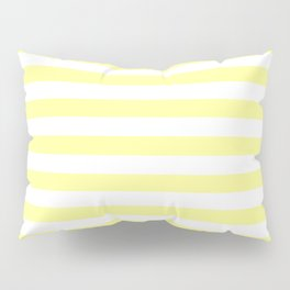 Light Yellow Stripes Pillow Sham