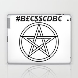 TRULY #BLESSEDBE INVERSE Laptop & iPad Skin