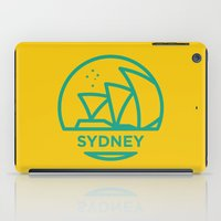 sydney iPad Cases featuring Sydney by BMaw