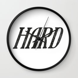 Hard Wall Clock