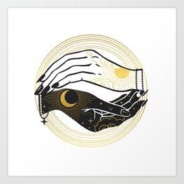La Lune Spell Art Print