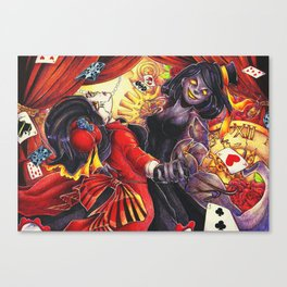 The Cirque's Illusions Canvas Print