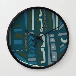 Oby rupestre Wall Clock