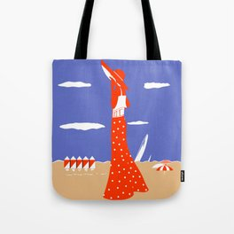 Saint Tropez Summer of 1927 Tote Bag