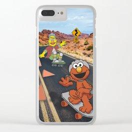Sesame Skate Clear iPhone Case