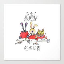 Art Bag Canvas Print