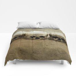 Three skulls Comforters
