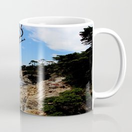 Hello Pacific Ocean - 17 Mile Drive, CA Coffee Mug