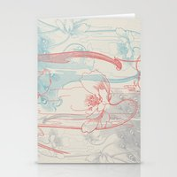 peacock Stationery Cards featuring Peacock by Heinz Aimer