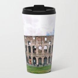 Italy Rome Colosseum Photography Art Decor Wall Art 8 x 8 / 5 x 5 Print Sets 5 SALE Travel Mug