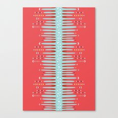 Bleeding Stripes #2 Canvas Print