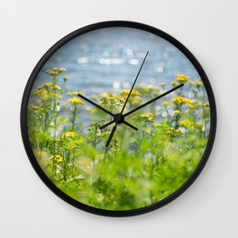 Lake Superior Sparkles Wall Clock