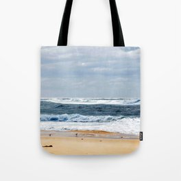 Nobbys Beach Tote Bag