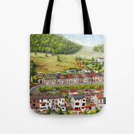 Cwm Parc, Treorchy, South Wales Valleys Tote Bag