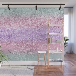 Unicorn Girls Glitter #8 #shiny #pastel #decor #art #society6 Wall Mural