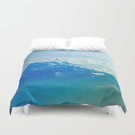 Mountain clouds 2 Duvet Cover