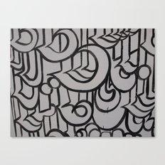 Linework 1 Canvas Print