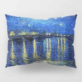 Starry Night Over the Rhone by Vincent van Gogh Pillow Sham