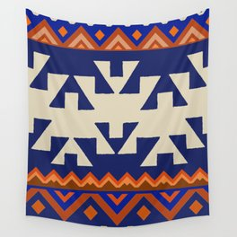 Aztec Folk Art Wall Tapestry
