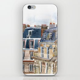 Roofs of Paris iPhone Skin