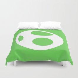 Green Egg Duvet Cover